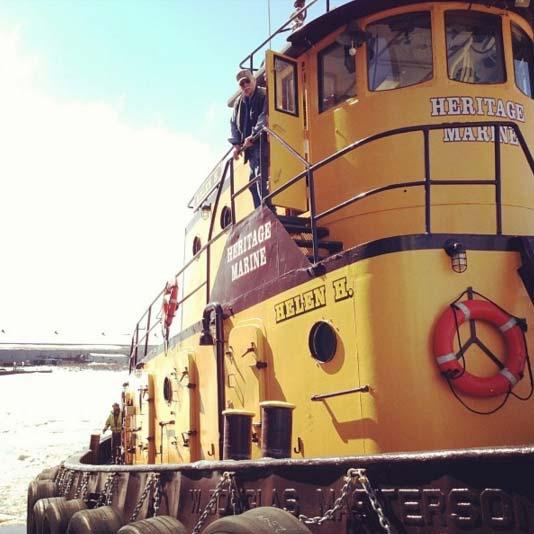 Heritage Marine Boat