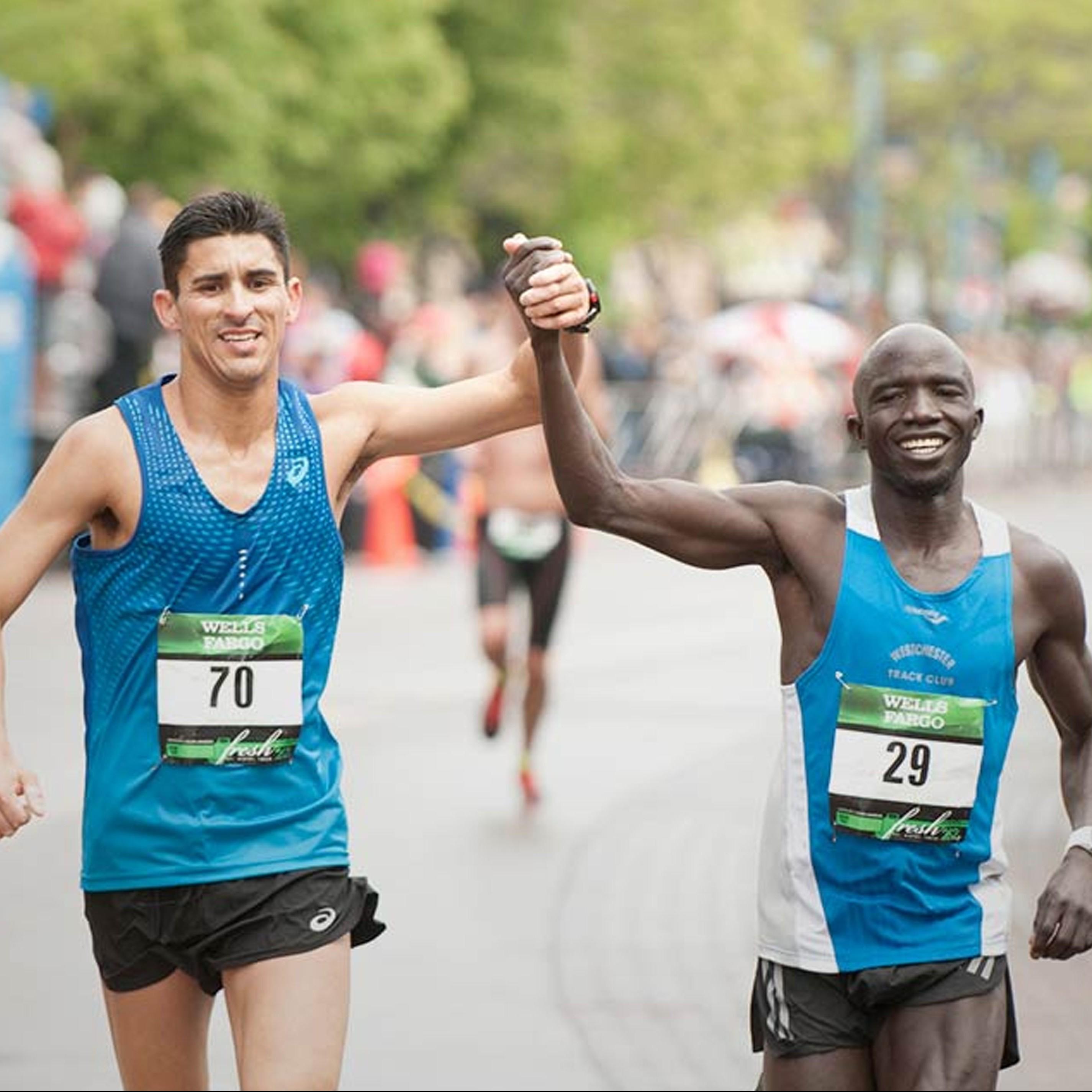 Grandma's Marathon male racers