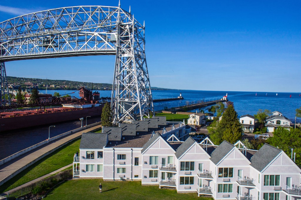 canal park  duluth mn