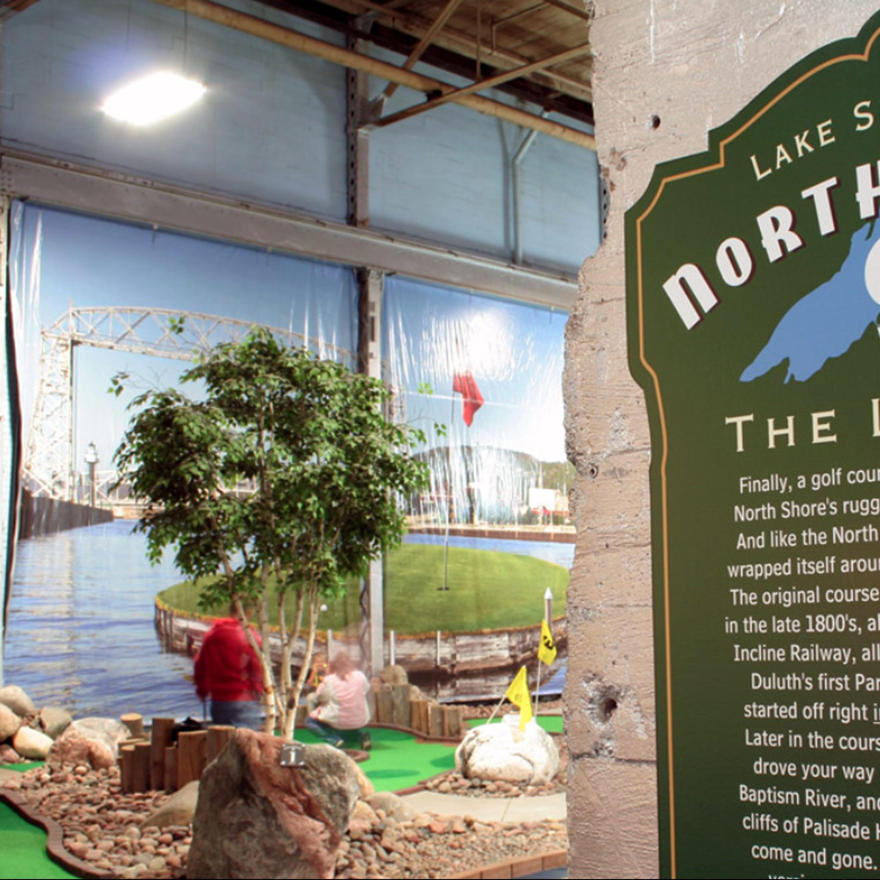 Adventure Zone mini golf
