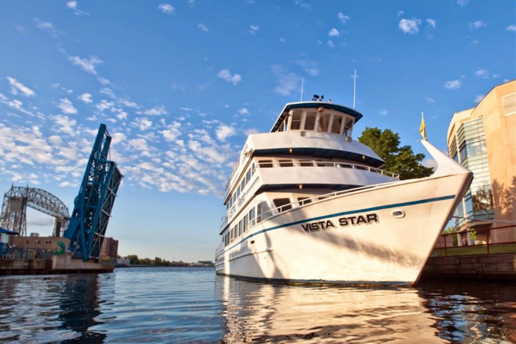 Vista fleet ship in harbor