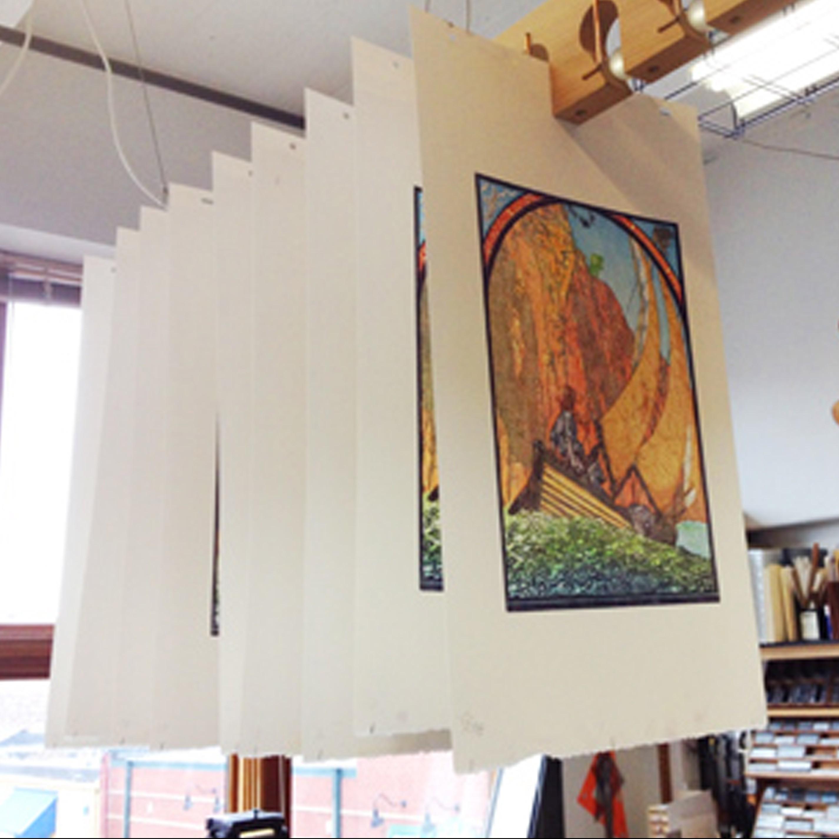 Ken Speckle Letterpress art prints