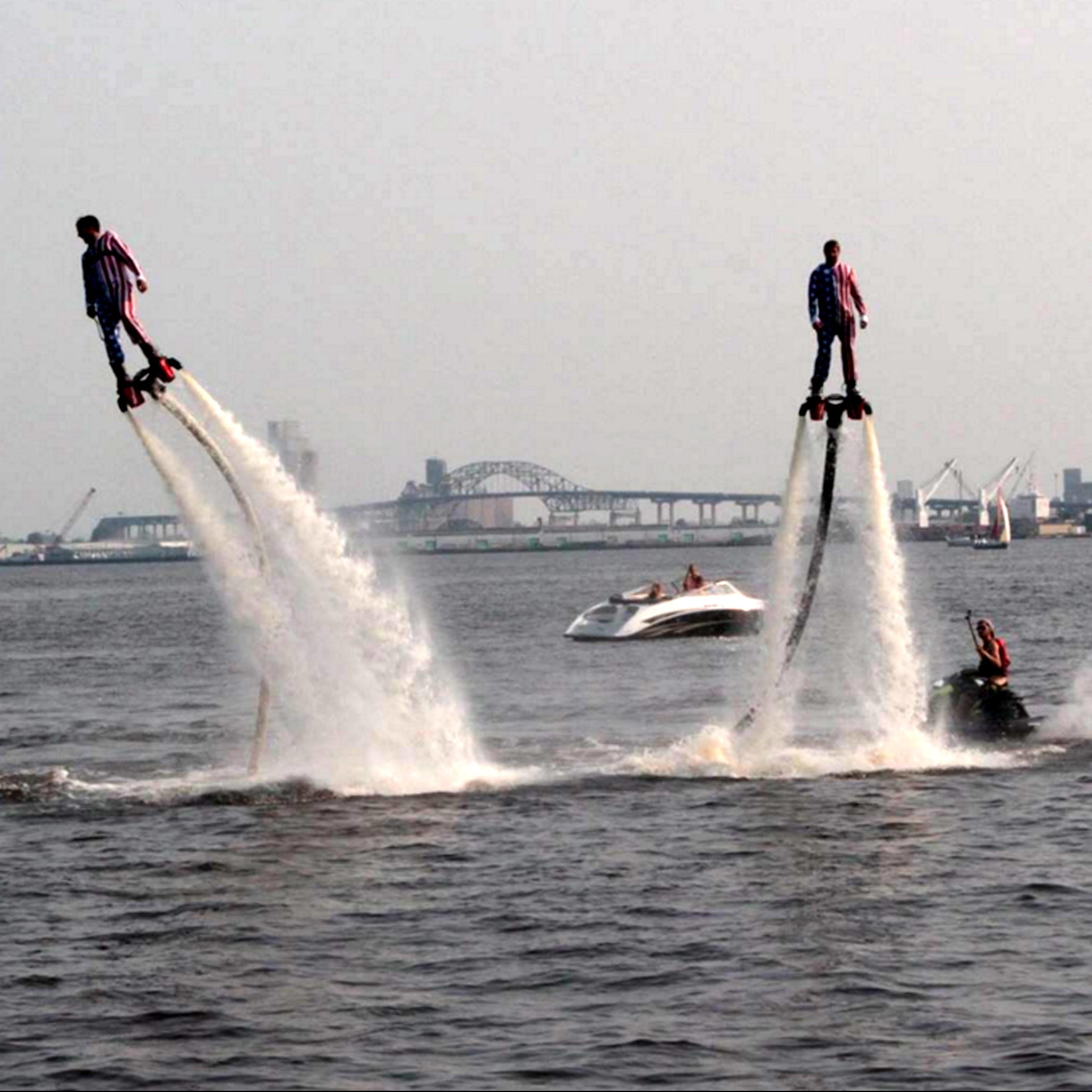 Lake Superior Fly-Board Rentals