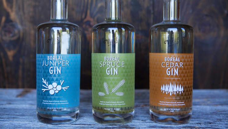 Vikre Distillery Gins
