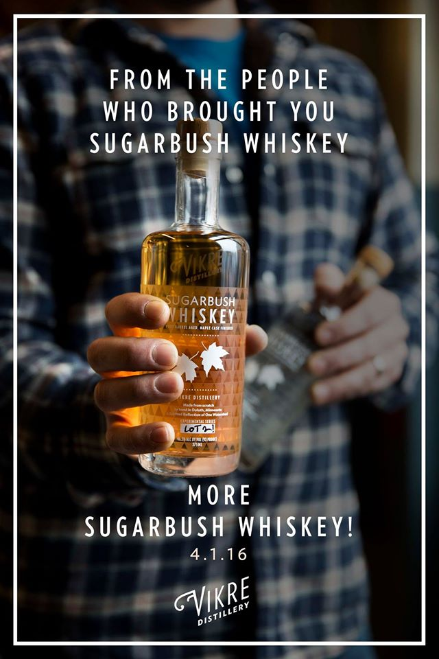 Vikre Sugarbush Whiskey Ad