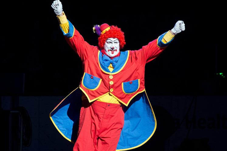 Shrine Circus clown