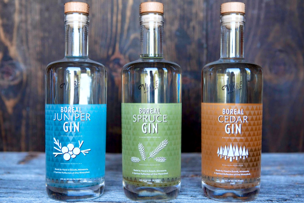 Vikre Distillery, Duluth, Gin