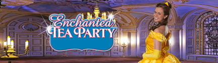 Belle Beauty and the Beast Enchanted Tea Party