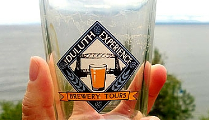 Duluth Experience Brewery Tour Glass