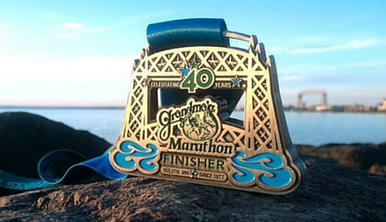 Grandma's Marathon Medal 2016