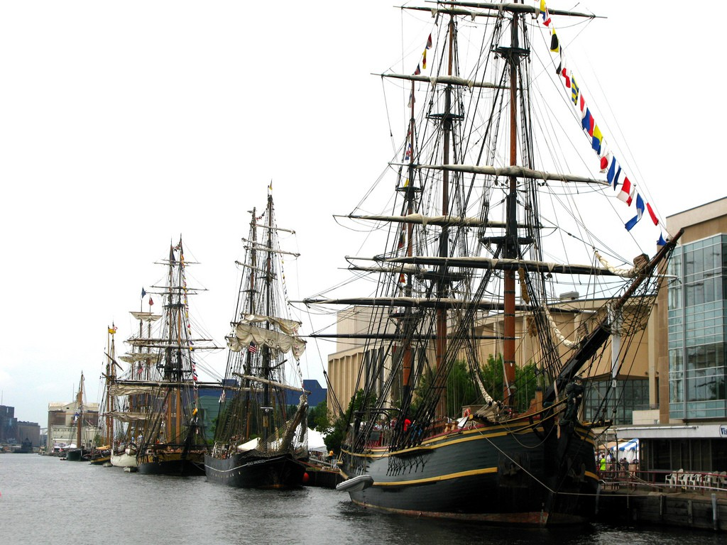 Tall Ships Festival in Duluth, MN
