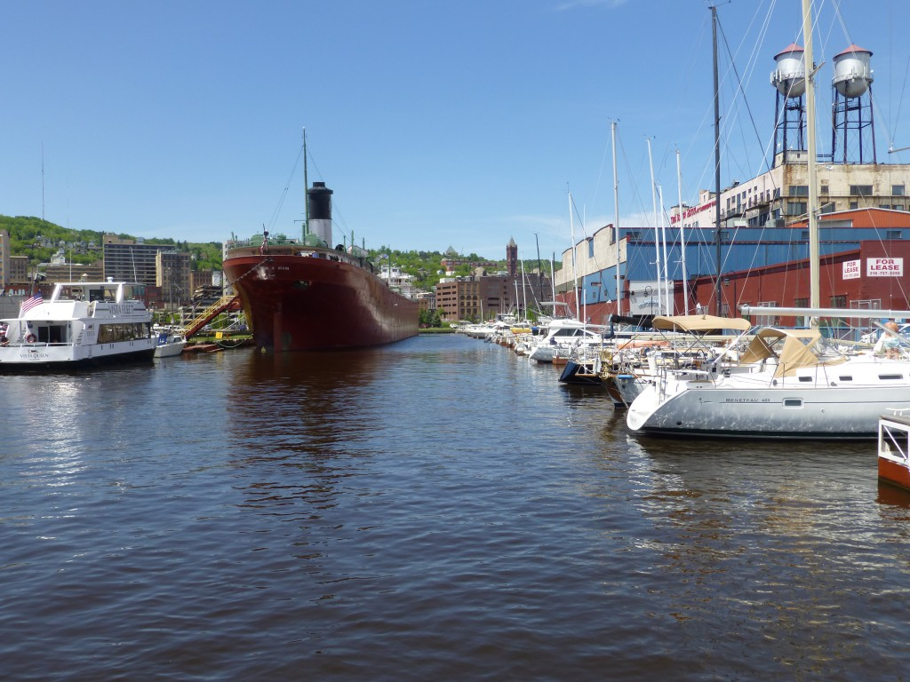 William A. Irvin and Duluth Harbor