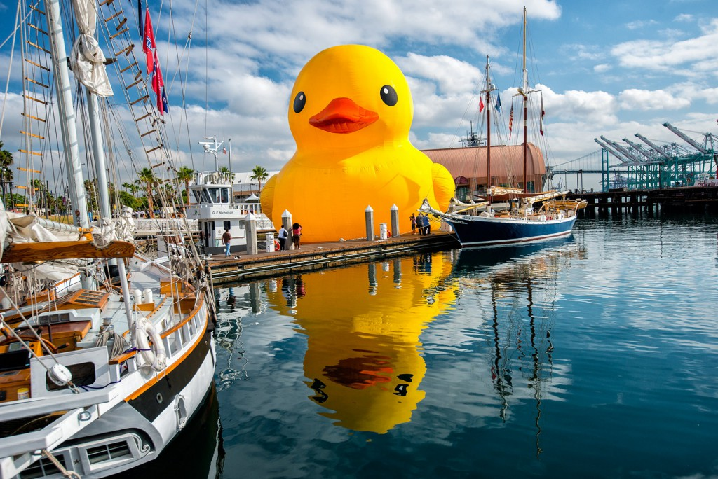 World's Largest Rubber Duck at the Tall Ships Festival