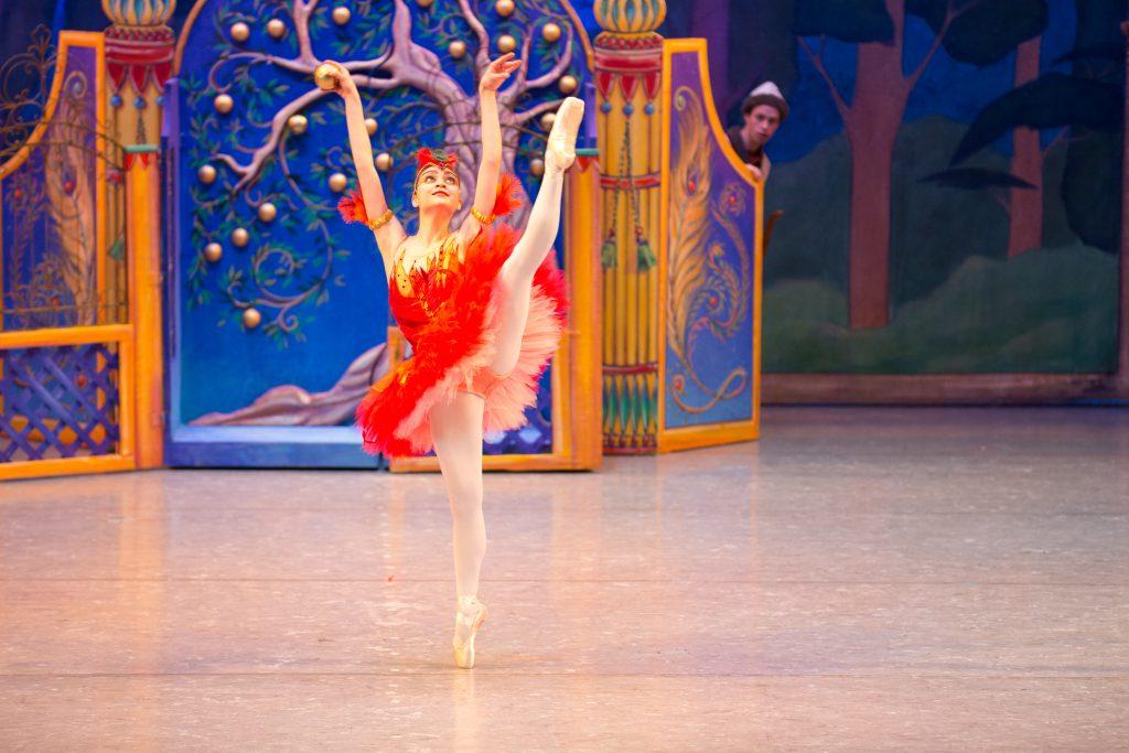 Ballerina from the Minnesota Ballet Firebird production