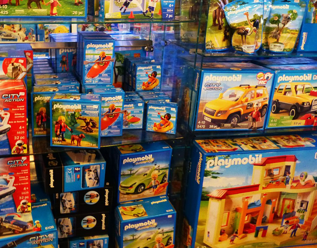 Playmobile toys at Toys for Keeps in Canal Park