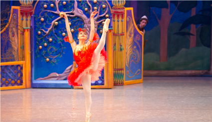 Minnesota Ballet performs Firebird