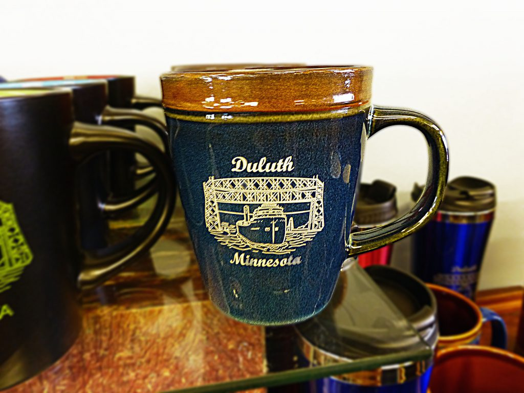 Duluth Minnesota lift bridge coffee mug