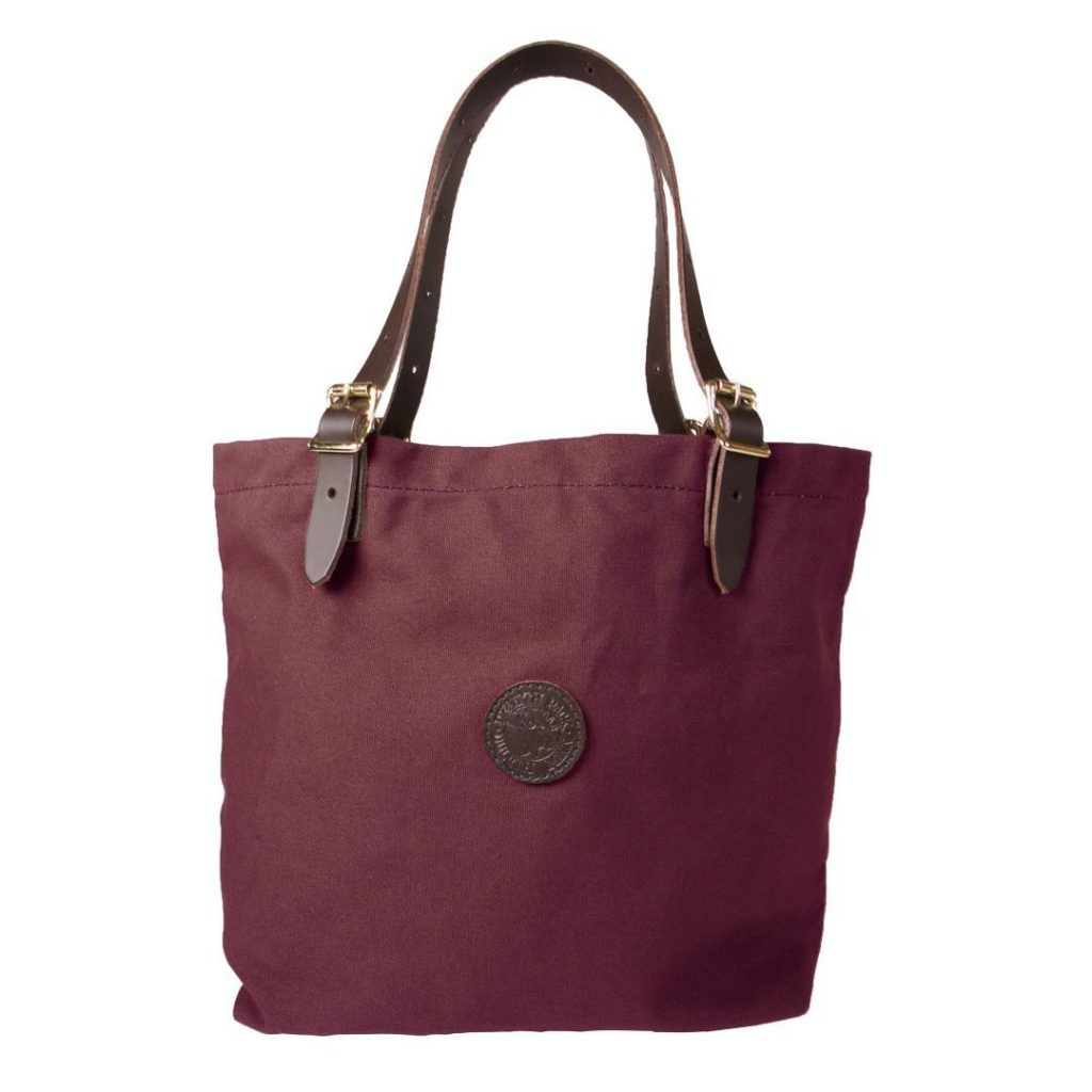 Maroon Duluth Pack Medium Market Tote