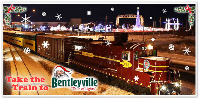 take the train to bentleyville